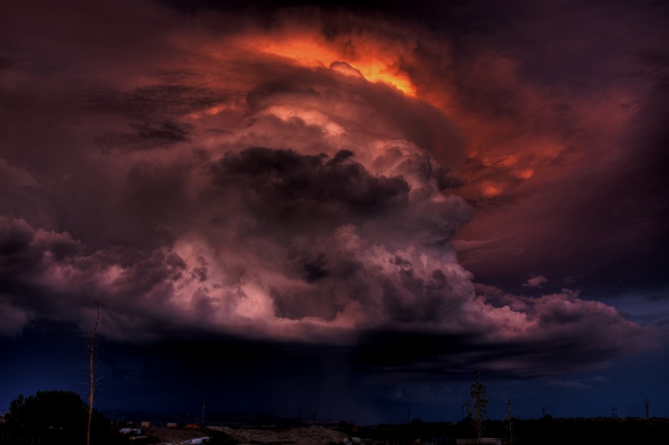 """The Cloud of Darkness,"" Silver City, NM, Photo: deansouglass"