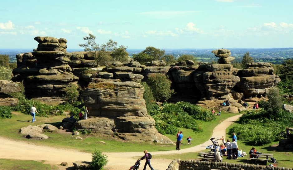 Brimham Rocks, England