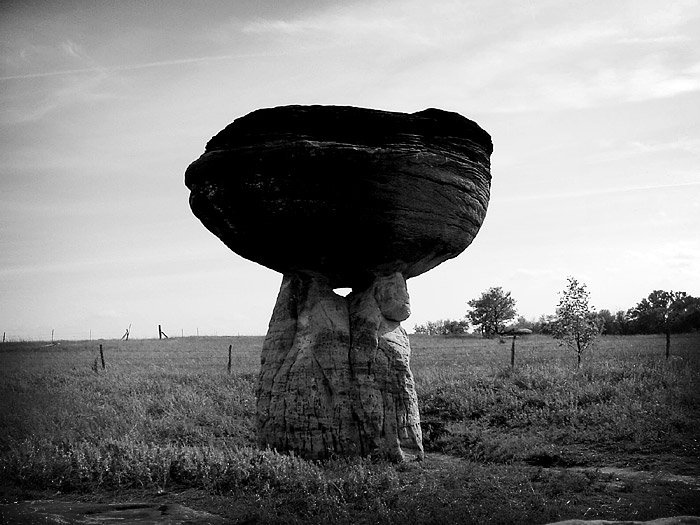 Mushroom Rock, Kansas