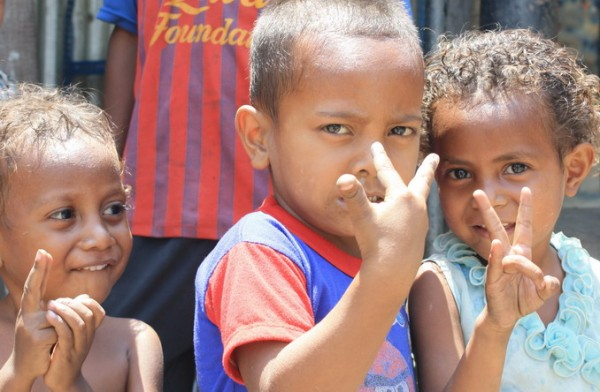 East Timor children