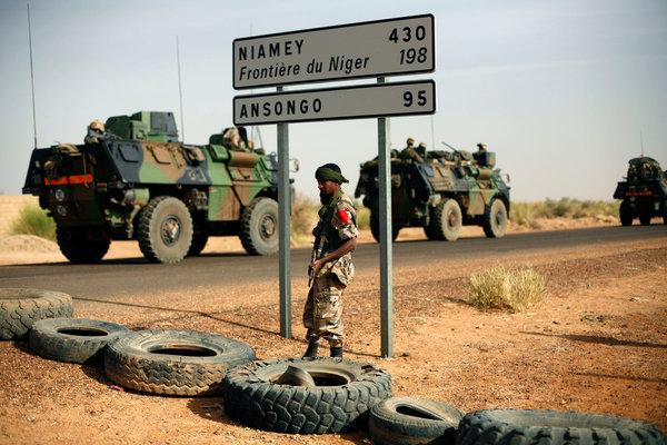 Mali military caravan