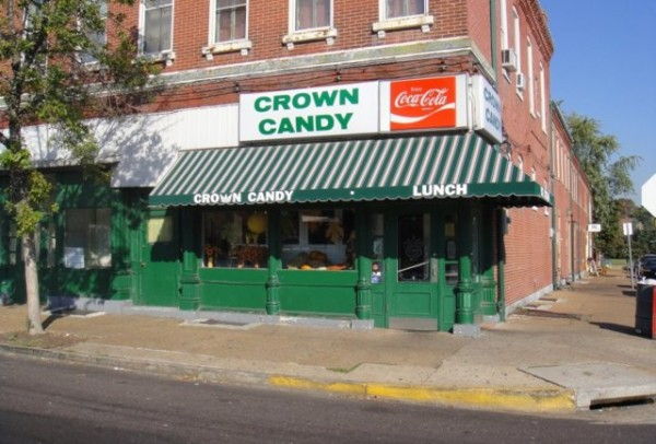 Crown Candy Kitchen, one of the oldest soda fountains in the country