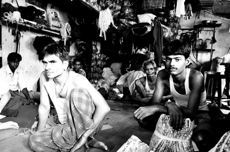 Garment laborers