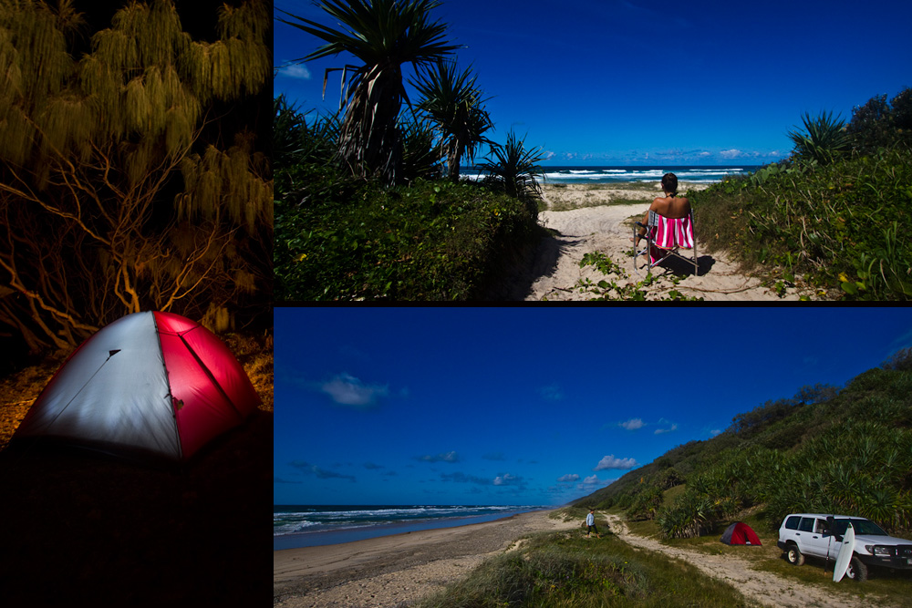 Nude Beaches - Nudist Beach Sunbathing - Queensland