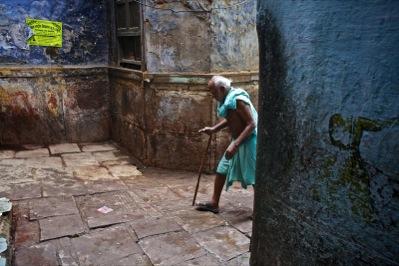 Varanasi's old town