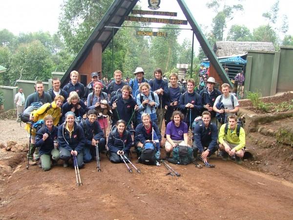 People at Kilimanjaro