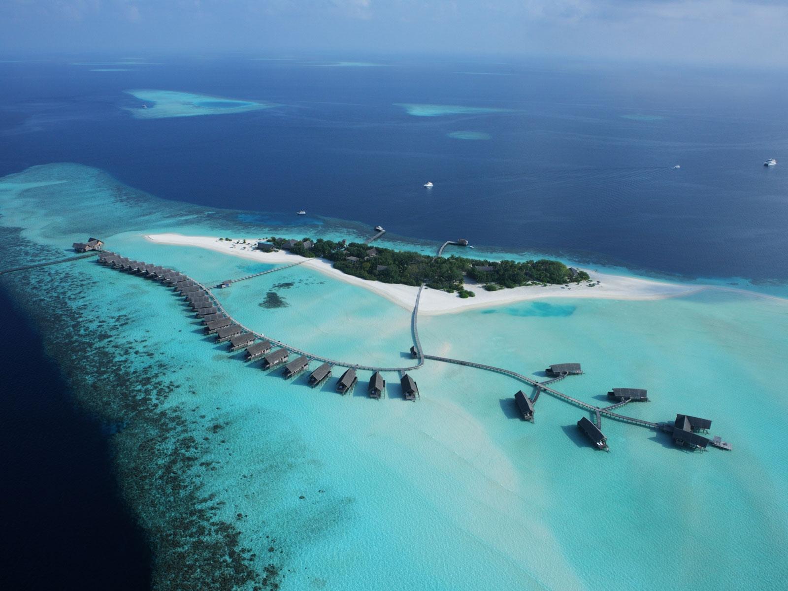 Cocoa Island aerial