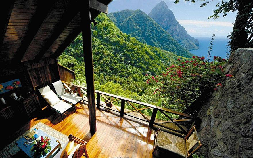 Ladera Resort view