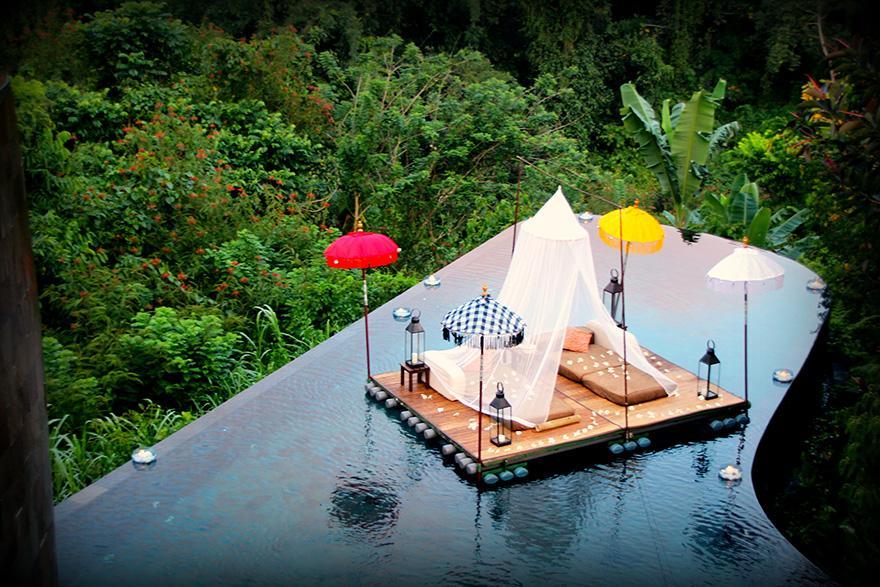Ubud Hotel relaxation