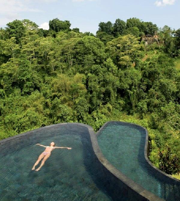 Ubud Hotel pools