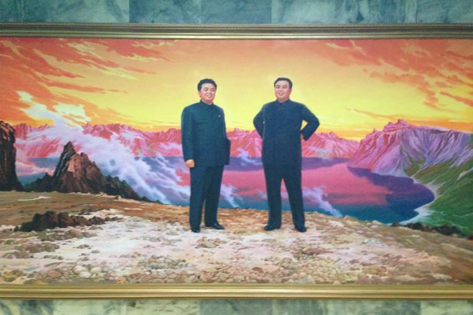 North Korea issue - Magazine cover