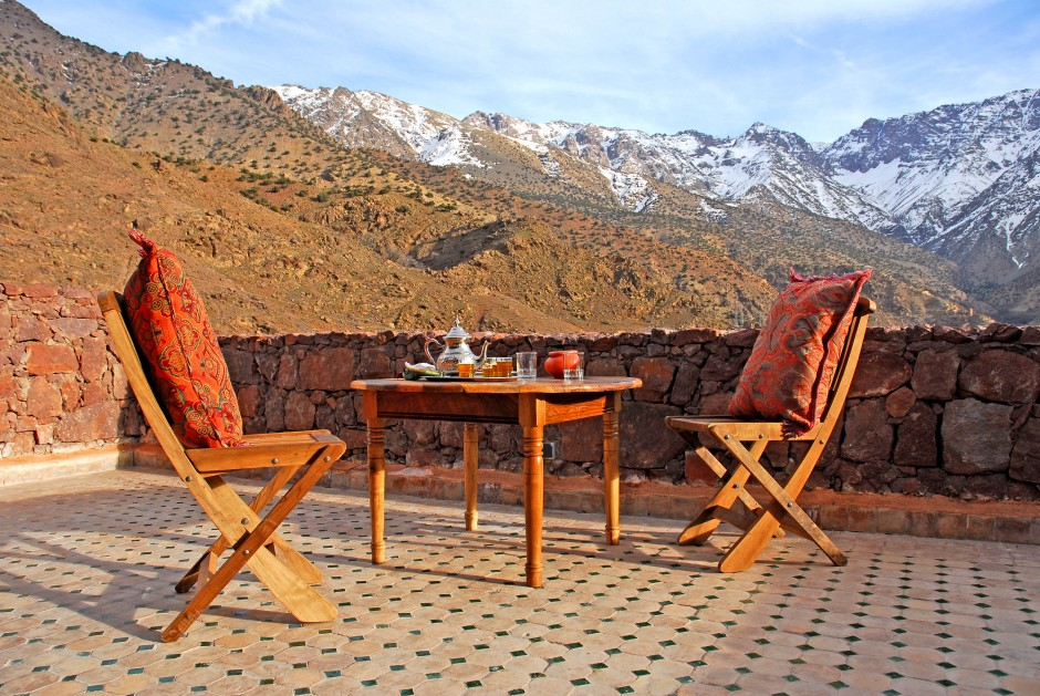 Kasbah du Toubkal (High Atlas Mountains, Morocco)