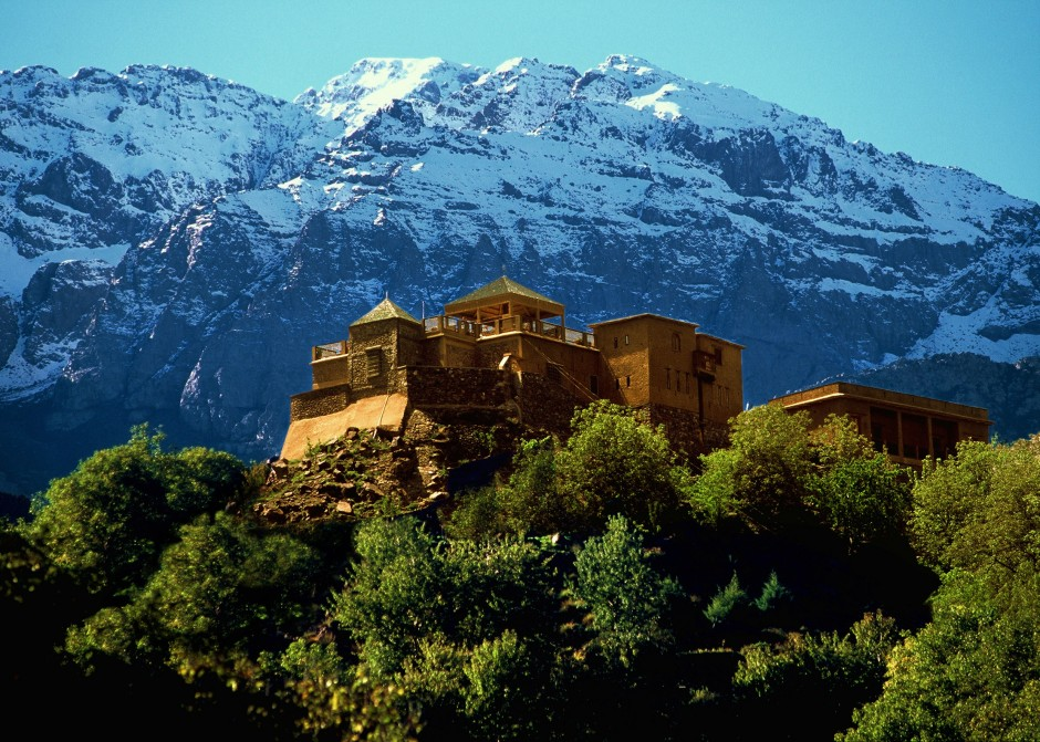 Kasbah du Toubkal (High Atlas Mountains, Morocco)