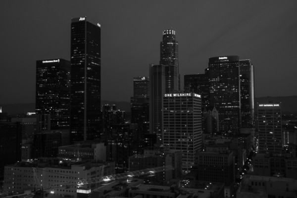The Los Angeles Skyline is very homogeneous because of earthquake and fire regulations that required every building to have a helicopter pad on the roof, which was seen as very restricting to architects. This measure was removed in 2014 (so long as buildings have extra safety features), thus heralding in a bevy of new designs specifically to update the skyline.