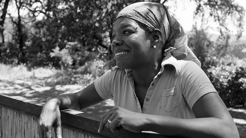Maya Angelou Press Photo