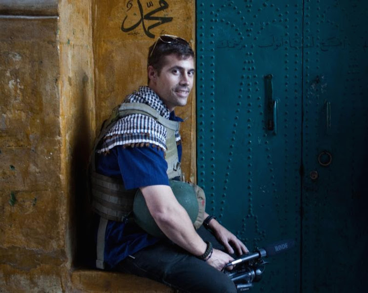 The James Foley Story Press Photo