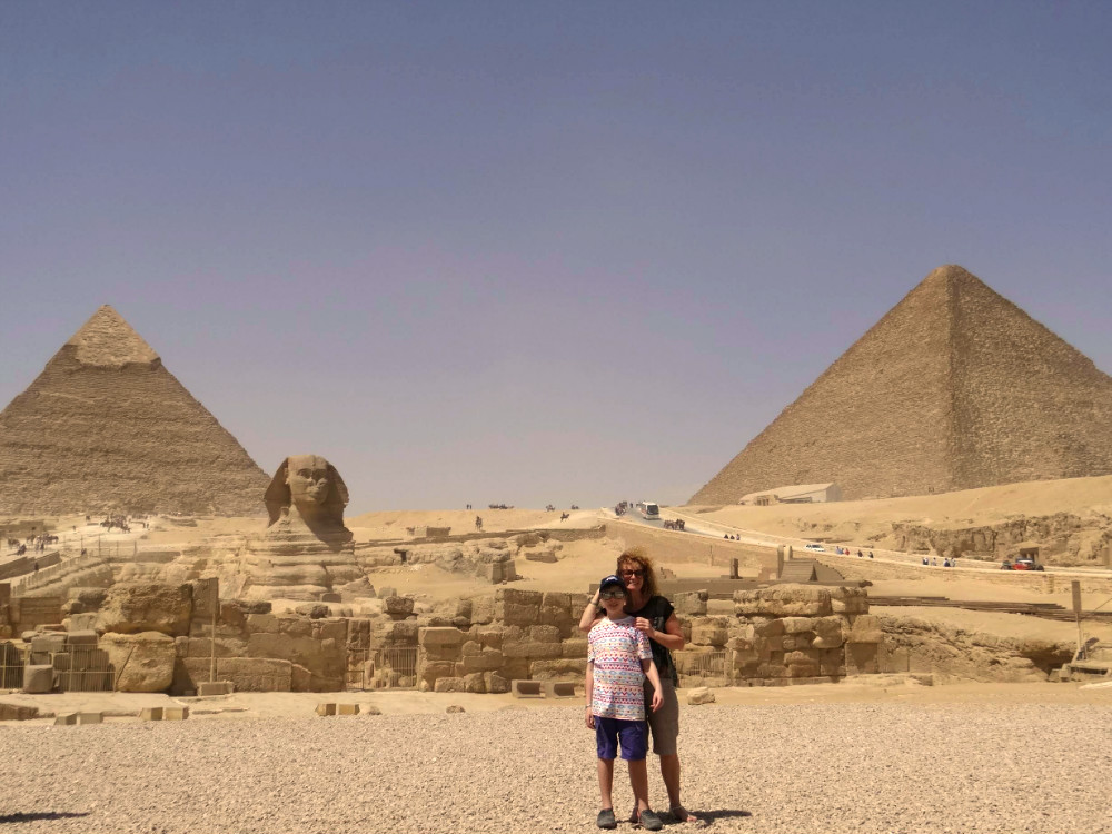 Exploramum & Explorason in Egypt