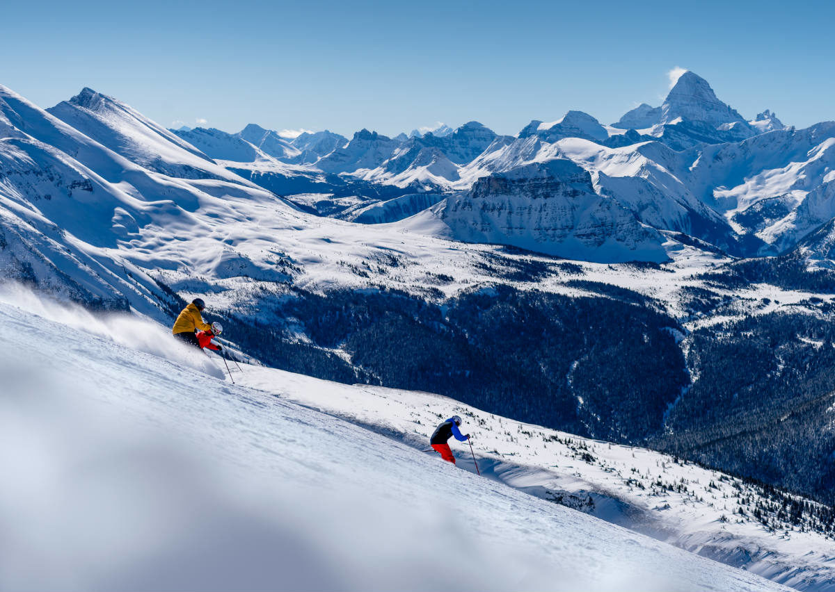 Unforgettable moments you ll have skiing banff and lake
