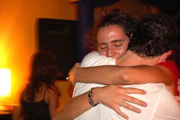 goodbye hug