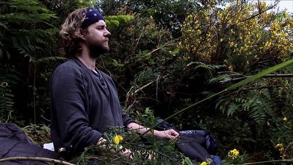 Jonas Elrod meditating