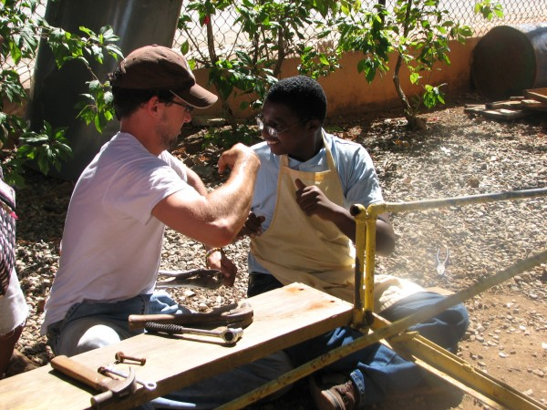 A Volunteer and Student in the Dominican Republic