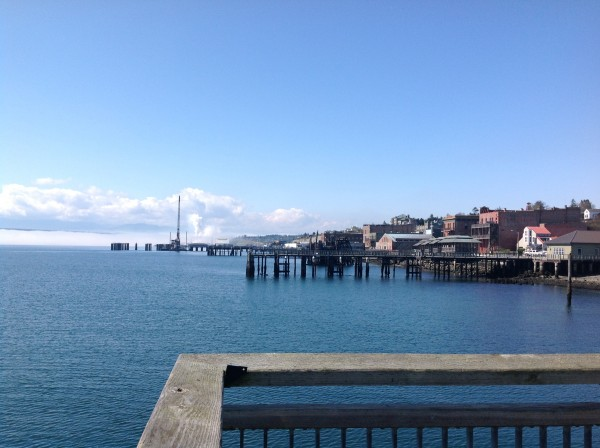 Port Townsend on a bright day