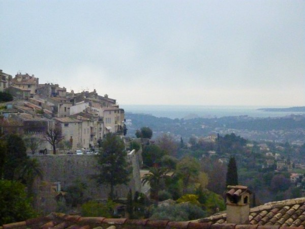 Overlooking Saint Paul de Vence