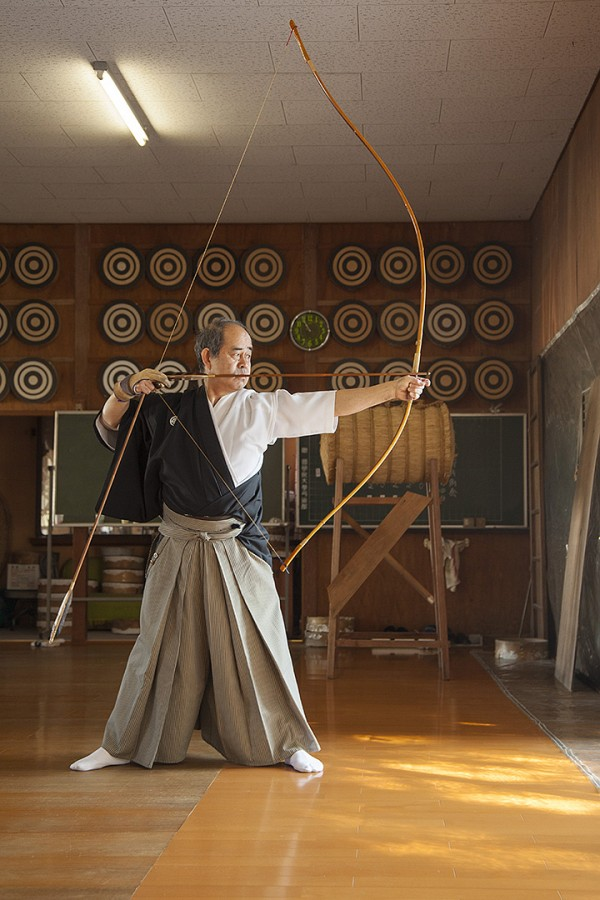 Kazuhisa Miyasaka Sensei, Kyudo 5th Dan
