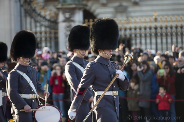 The Guard that looks after Buckingham Palace is called The Queen's Guard and contrary to popular belief, they are not purely ceremonial and but also fully operational soldiers.
