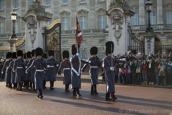 While upholding the traditions of the past, the guards also perform duties around the world as professional soldiers, who in their infantry role, have a reputation as some of the most elite and skilled soldiers in the British Army.
