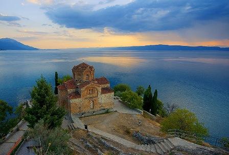 St. John, Ohrid Lake - an old Byzantium monastery