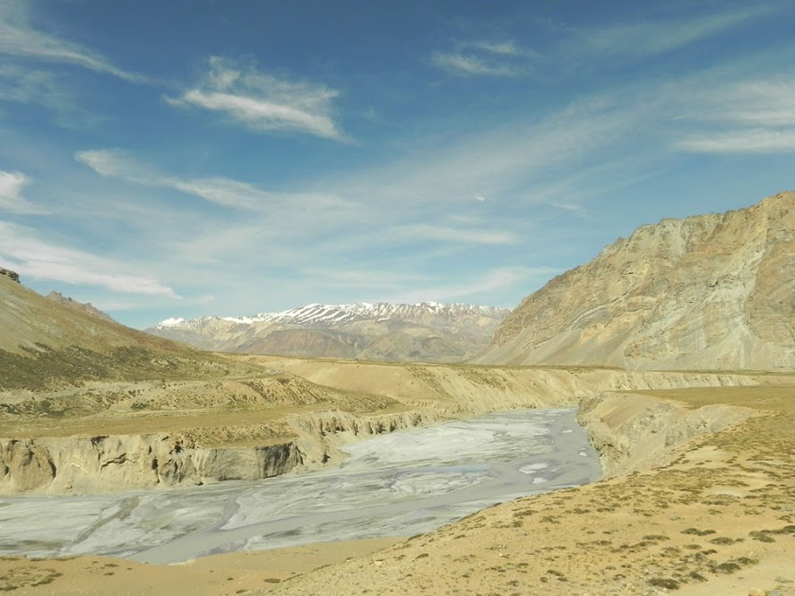 View of Tsarap River After Sarchu, Leh Manali Highway