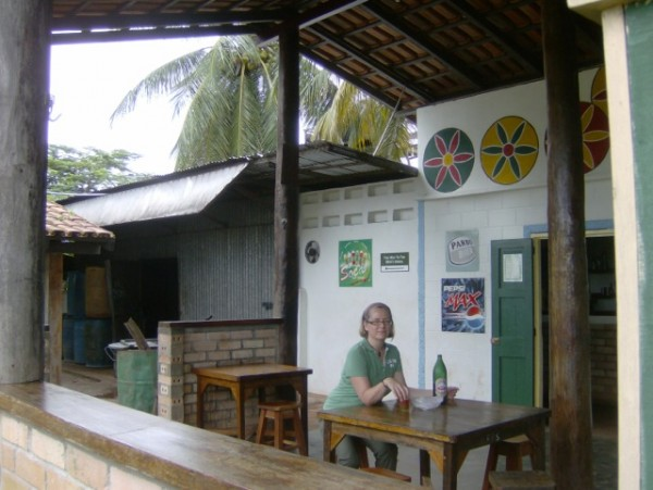In Annai, waiting for a plane to Guyana's rainforest