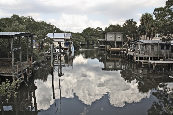A Cedar Key Residential Neighborhood