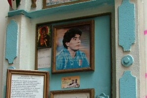Maradona Shrine