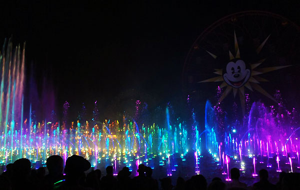World of Color at Disneyland