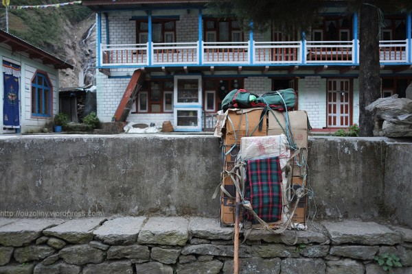 porter's load - the majority of porters carry over the official load limit of 30kg