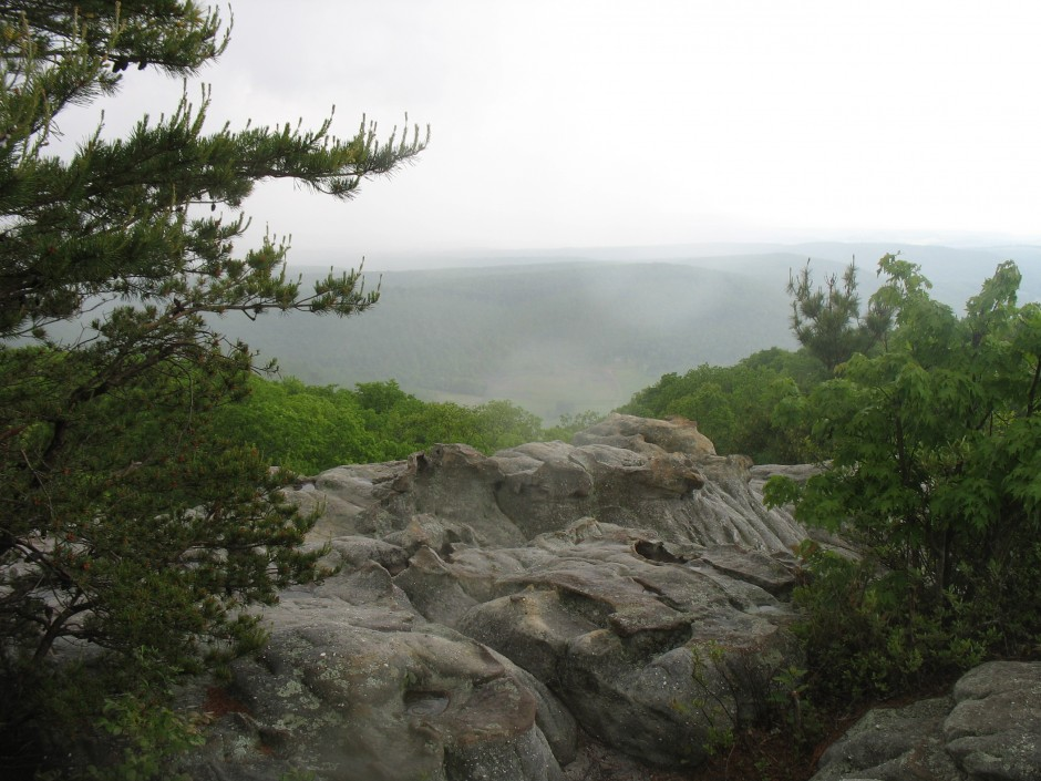 A view from the Cumberland Trail.