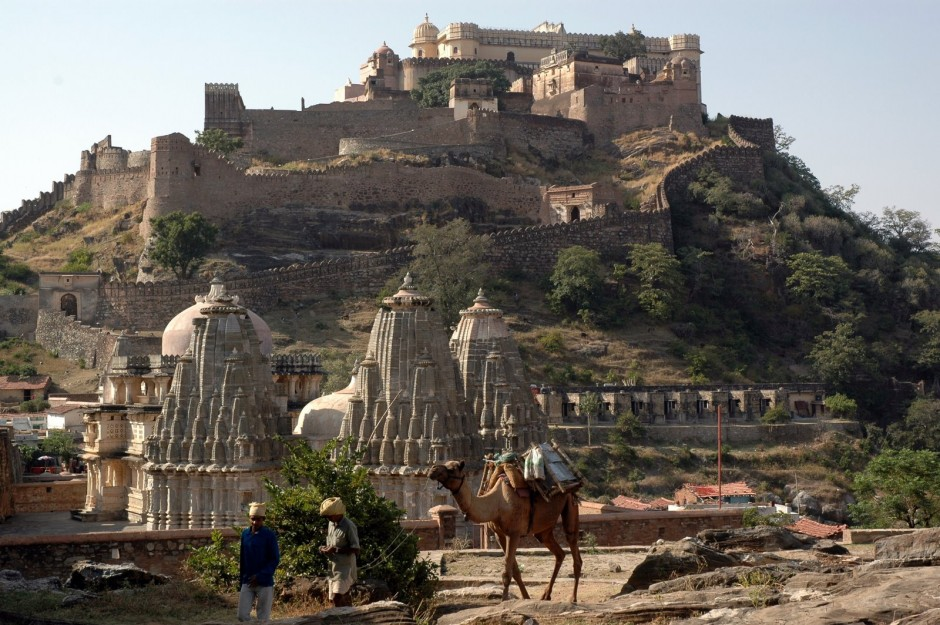 Kumbhalgarh Fort, Rajastan, India