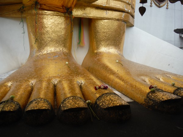 Standing Buddha's Feet