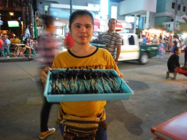 Women Selling Scorpions