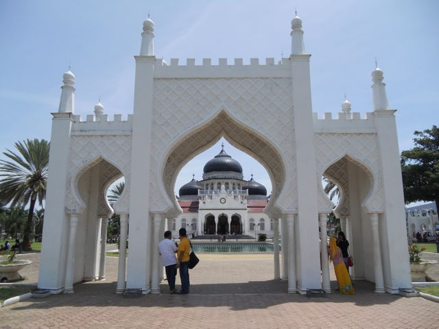 Famous mosque that harboured many victims of the boxing day tsunami