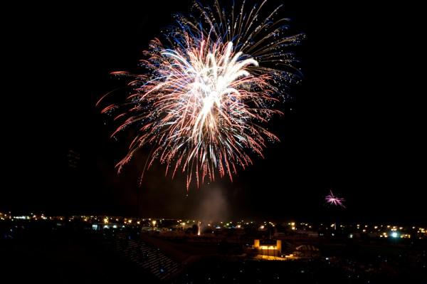 Amazing fireworks.