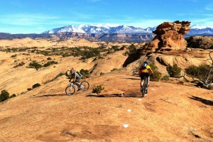 Moab is a bikers' playground