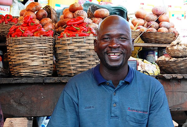 Market Vendor in Nigeria