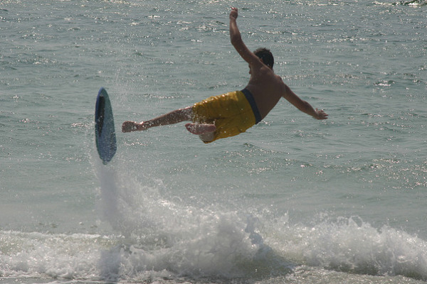boogieboard wipeout