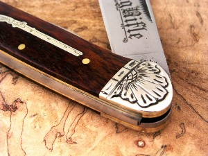 Engraved Pocket Knife