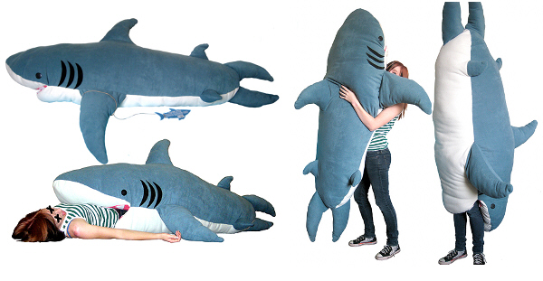 Shark Pillow That Eats You the dancing cow: august 2012