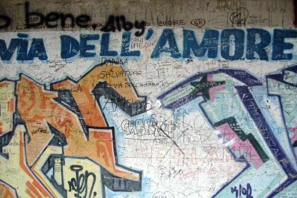 Walkway of Via Della Amore