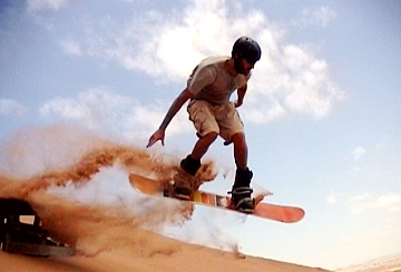 sandboarding